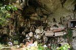 Coffins at Londa Nanggala (Toraja Land (Torajaland), Sulawesi)