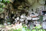 Coffins at Londa Nanggala (Toraja Land (Torajaland), Sulawesi) -- sulawesi6953