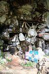 Coffins at Londa Nanggala (Toraja Land (Torajaland), Sulawesi) -- sulawesi6959