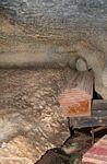 Coffins in cave at Londa Nanggala (Toraja Land (Torajaland), Sulawesi) -- sulawesi6966