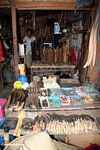 Hardware store / stand in market in Rantepao (Toraja Land (Torajaland), Sulawesi)