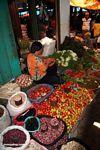 Vegetable market in Rantepao (Toraja Land (Torajaland), Sulawesi)