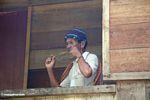 Man playing instrument (Toraja Land (Torajaland), Sulawesi)