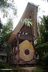 Wealthy family's burial tomb (Toraja Land (Torajaland), Sulawesi)