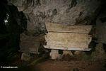 Stone coffin at Ketu Kese (Toraja Land (Torajaland), Sulawesi) -- sulawesi7409