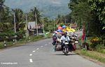 Fully loaded motorcycle (Sulawesi - Celebes)
