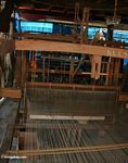 Silk weaving equipment under house in a village of Sengkang (Sulawesi - Celebes)
